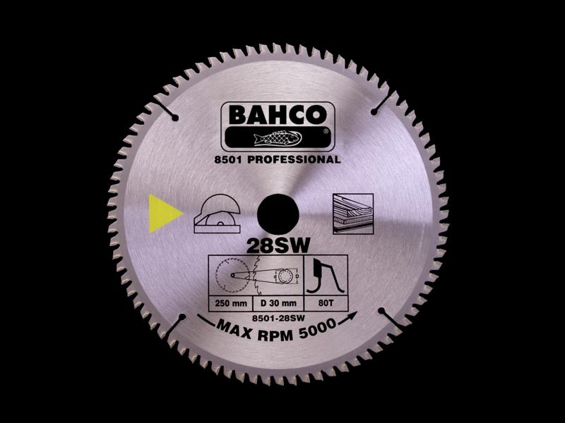 Bahco Kotúč pílový 8501-30SW 300x30 - 60Z