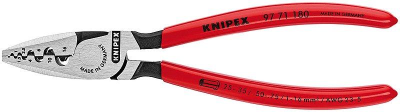 Knipex Kliešte  9771180 lisovacie