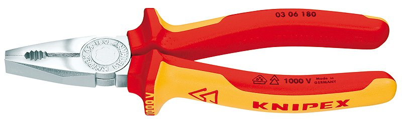 Knipex Kliešte  0306180 Kombi VDE 51540180