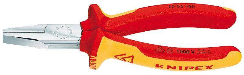 Knipex Kliešte  VDE 1000V 2006160 ploché