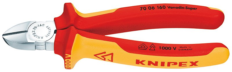 Knipex Kliešte  7006180SB štípacie bočné