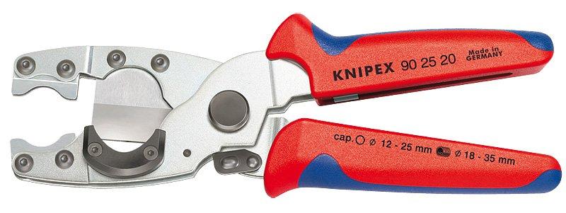 Knipex  Kliešte na rezanie viacvrstvových trubiek a chráničiek 9025
