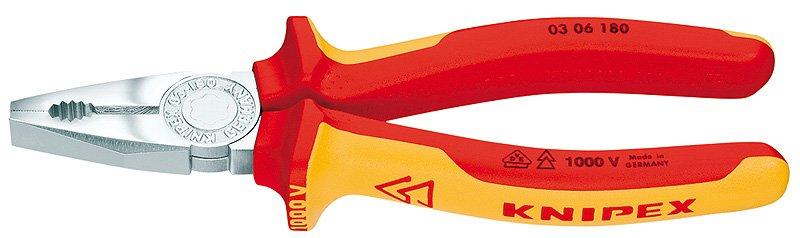 Knipex Kliešte  0306160 Kombi VDE SB