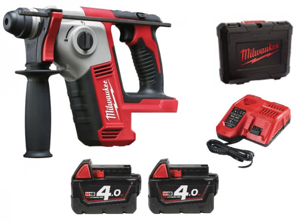 Milwaukee M18 BH-402C  kompaktné SDS-plus kladivo