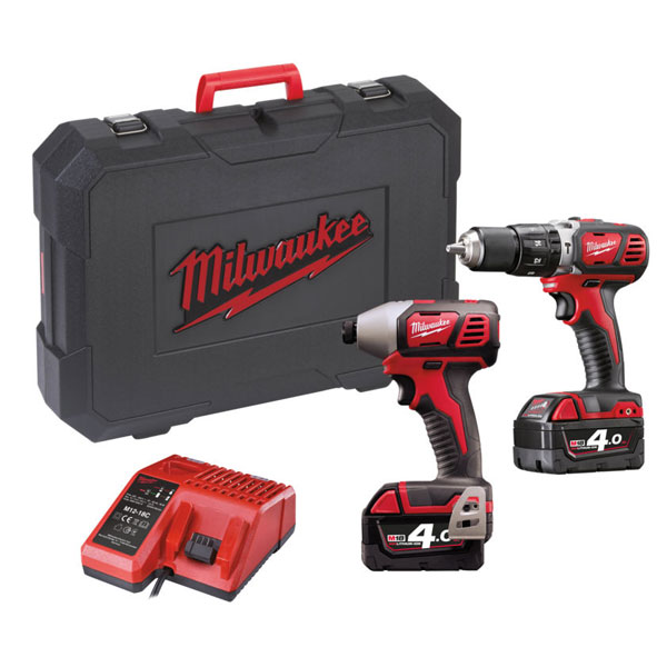Milwaukee M18 BPP2C-402C  set náradia