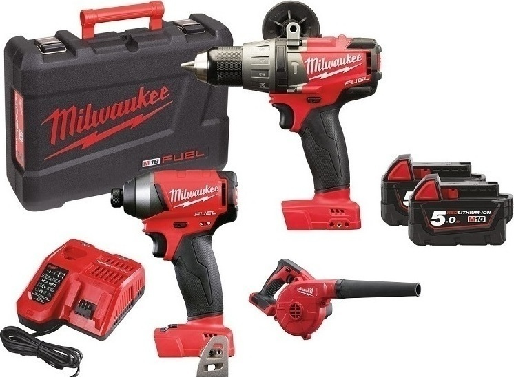 Milwaukee M18 FPP2A-502X   M18  set náradia