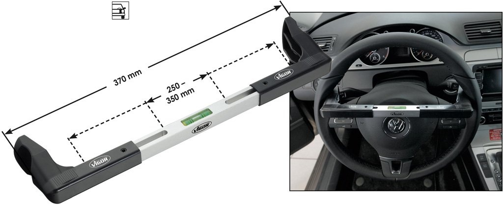 Váha pre nastavenie volantu VIGOR V1571