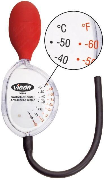 Tester nemrznúcich kvapalín VIGOR V1586