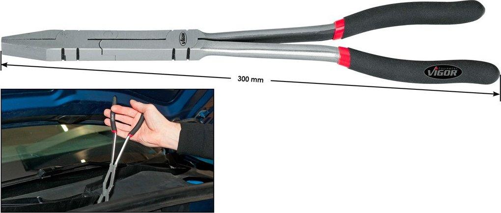 Kombinované kliešte s dvojitým kĺbom VIGOR V2781