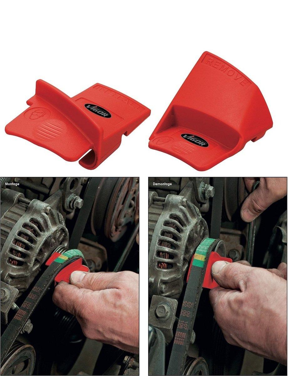 Náradie pre prácu s drážkovými remenmi VIGOR V3571