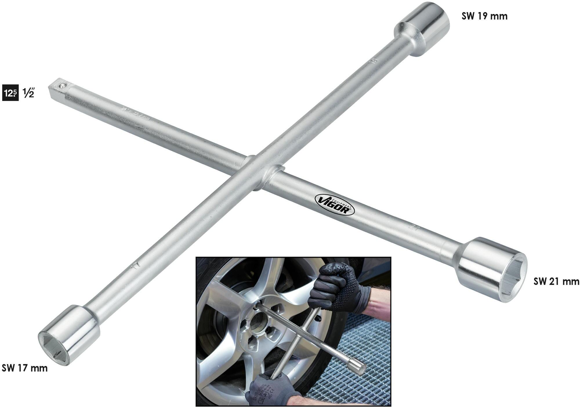 Krížový kľúč VIGOR V4195