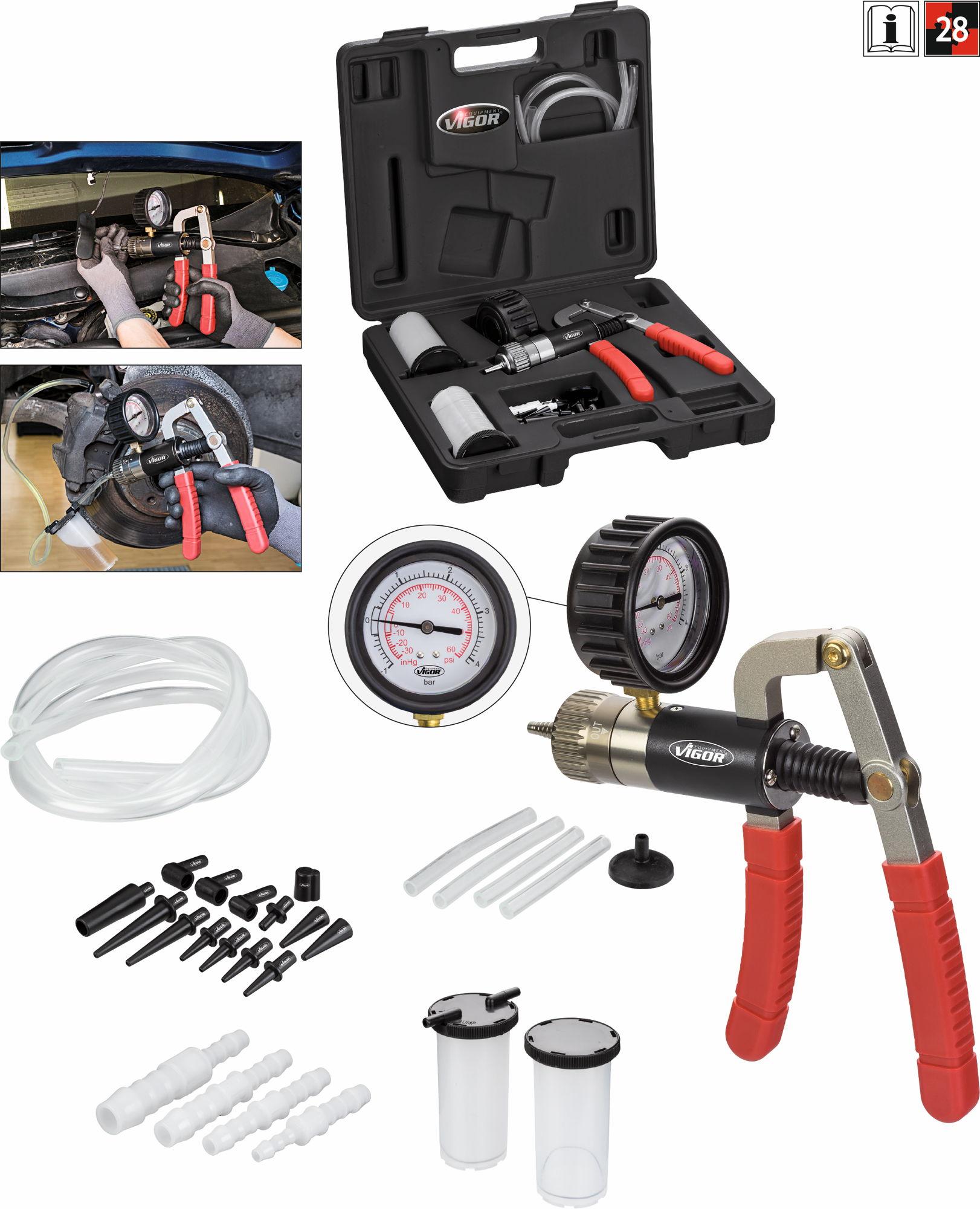 Sada vákuovej a tlakovacej pumpy VIGOR V4325