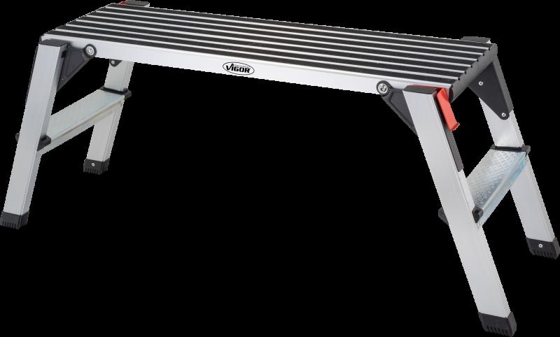 Bezpečnostné plošina, hliník VIGOR V4638
