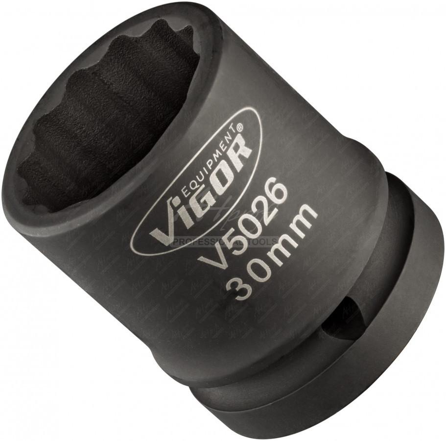 Silová nástrčná hlavica 3/4´´  30mm VIGOR V5026