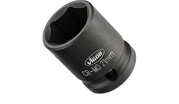 1/2´´ Nástrčná hlavica pre rázový uťahovák, krátka 10mm VIGOR V5550S-10